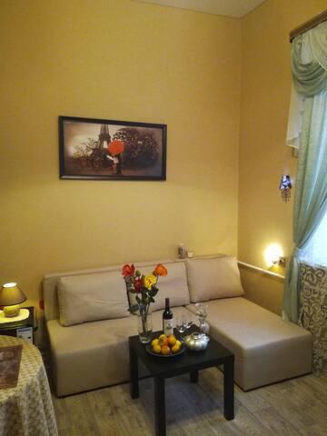 """""""Рауха"""" отличная квартира-студия,ждет вас!!!"""