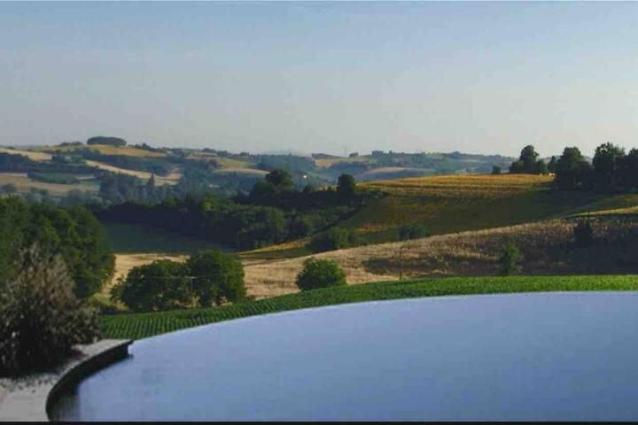 Panoramic, romantic  Farmhouse