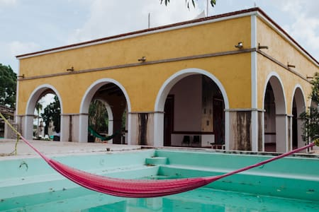 Villa 6 familiar Kankabal 20 min Izamal
