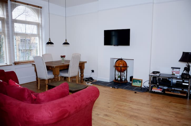 Spacious double room, quiet area - London - Apartmen