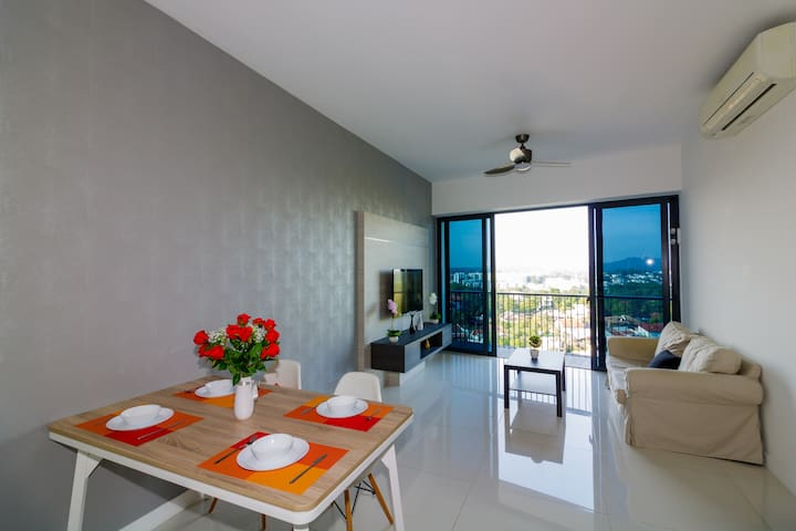 Amazing 2 BR near Orchard and MRT with Sky View - Singapore - Appartement