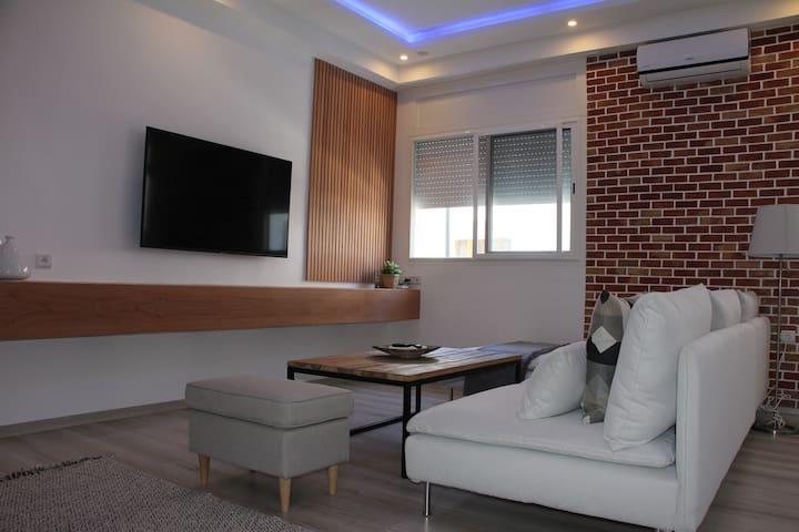 New Luxury Apartment 3- Best Location in Rabat