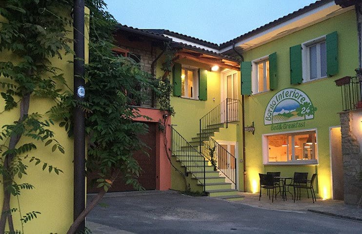 B&B Borgo Inferiore 24-Double room - Lussito