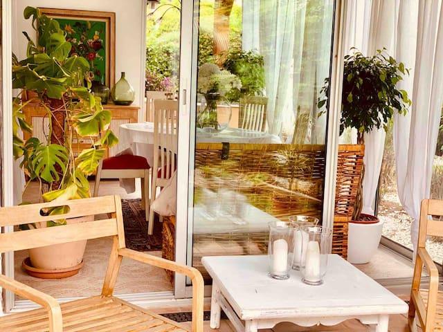 Entire Garden Antibes Home