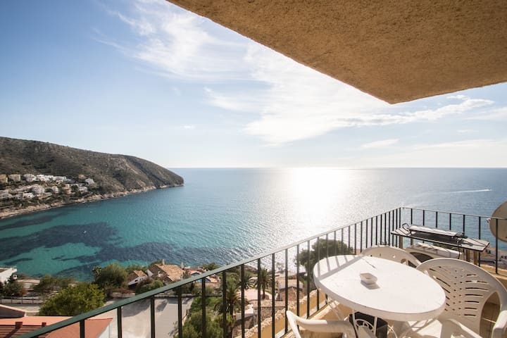 Beautiful apt with amazing sea view - Teulada - Appartement