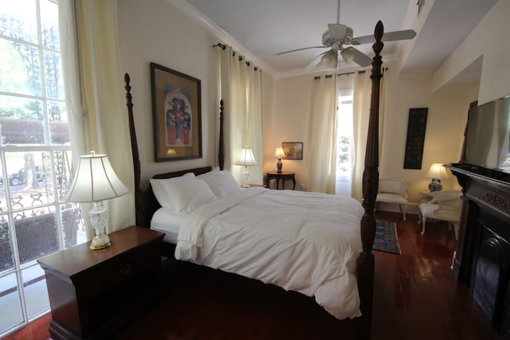 Romantic Luxury Suite Next To French Quarter