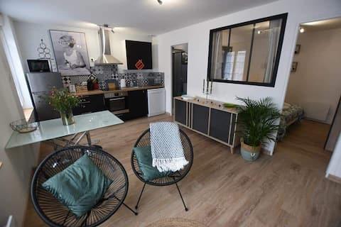 Appartement situé en plein cœur de Bricquebec