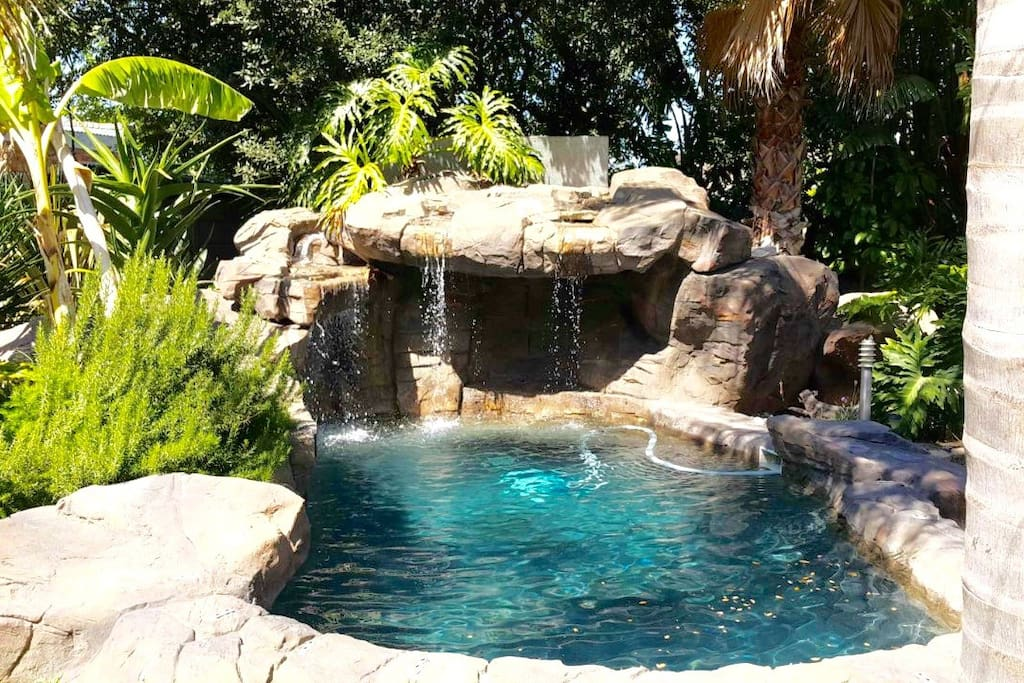 Rock pool. Great for the summer months
