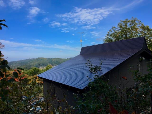 Mountain and Lake Holiday House in Nojiri-Ko!