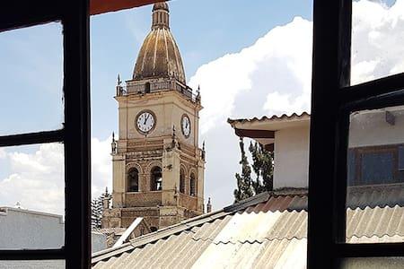 Pleno centro de Cocha, hermoso depa INDEPENDIENTE - Cochabamba - Apartment