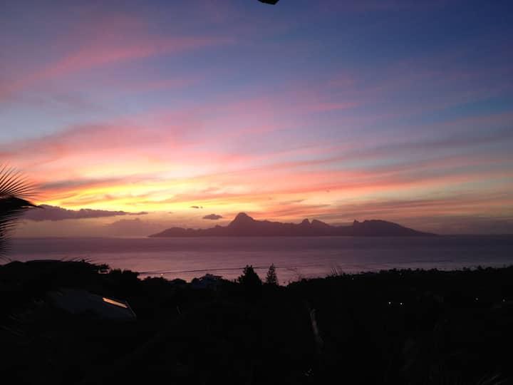 Tahiti coup de coeur entre mer et montagne