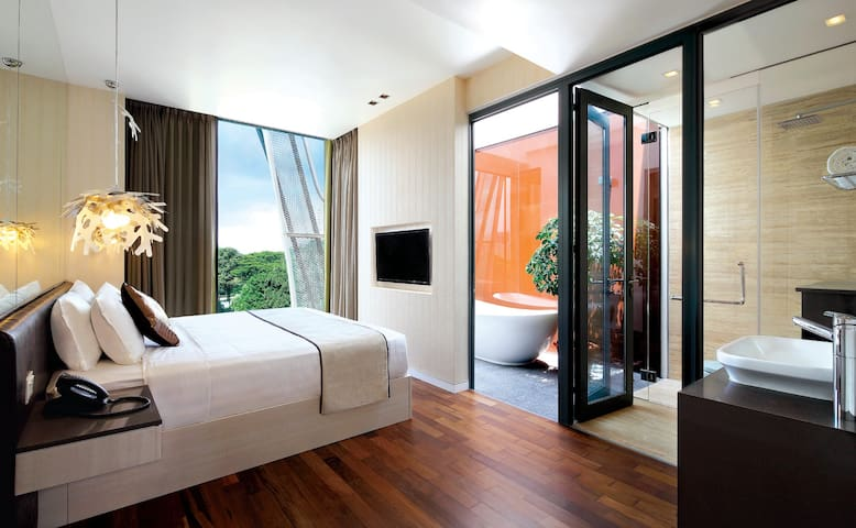 Nature Inspired Premier 1BR Apartment in Novena