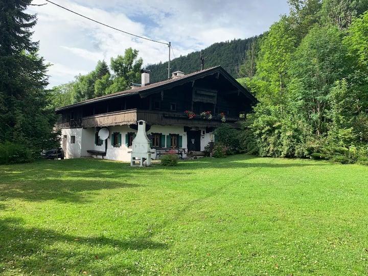 Bergbauernhaus Sulzmühle - Urlaub in den Bergen