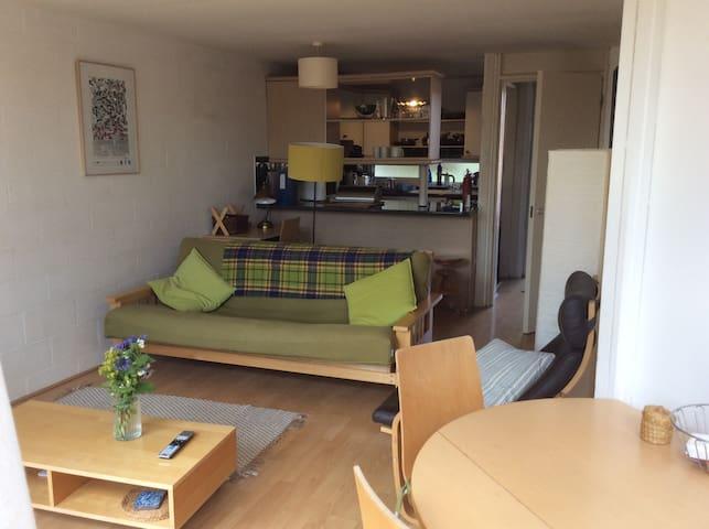 Bright Apartment, private balcony, North Oxford
