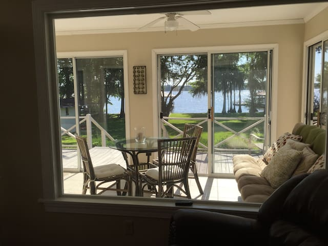 Getaway home on Lake Blackshear! - Cobb - Casa