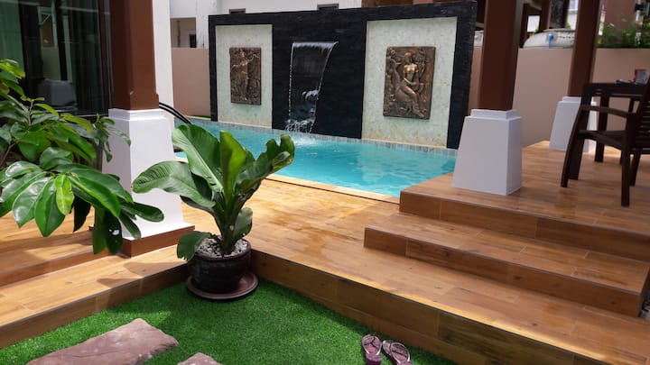 BEAUTIFUL PRIVATE POOL VILLA PATONG 4bed 8  person