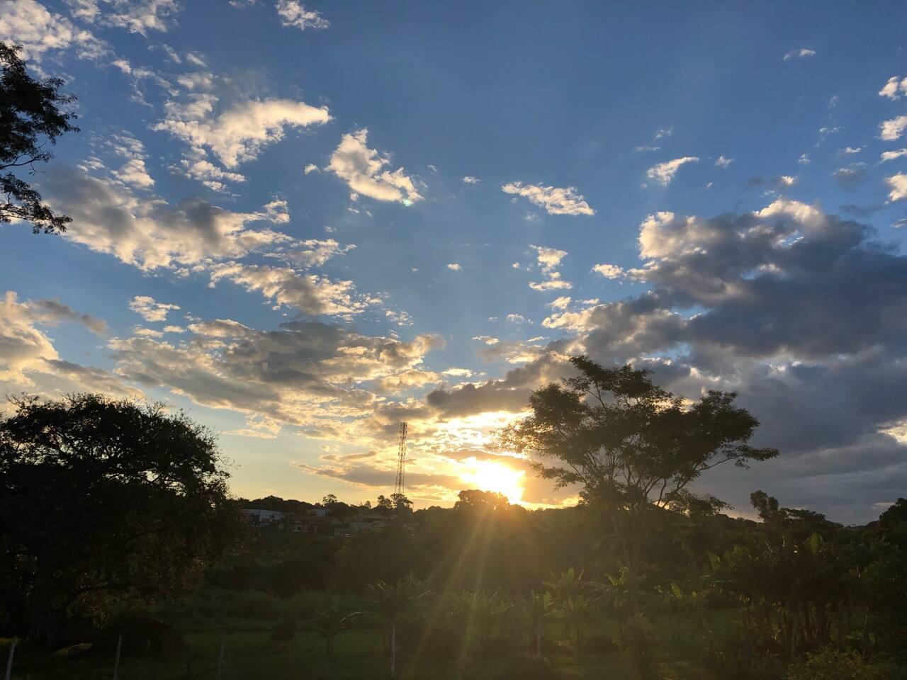 Por do Sol em Campo Grande :)