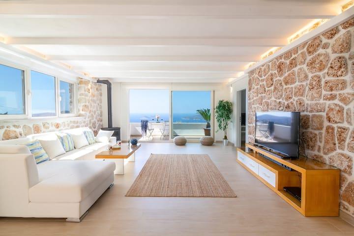 Luxury Holiday House Kalkan 2 Bedroom w/IndoorPool