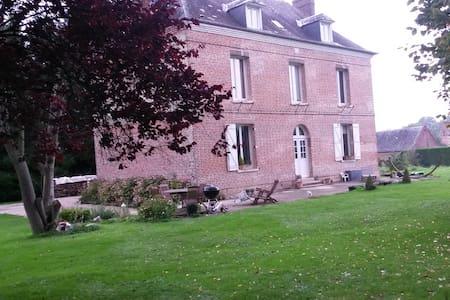 Maison de charme idéale famille 25 km de la mer - Gonneville-sur-Scie