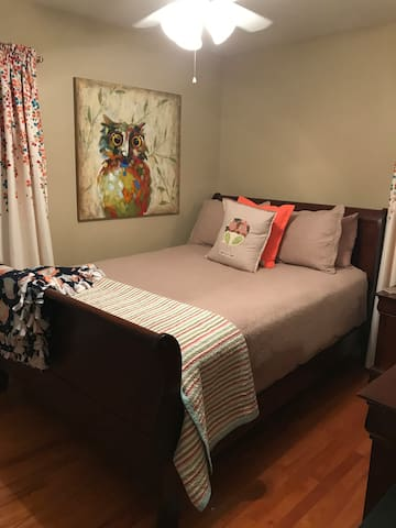 Private room for female RN