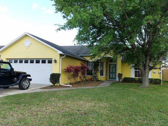 Cozy Yellow House