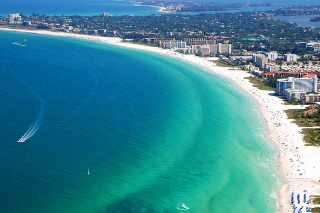 Siesta Key Beach White Sands