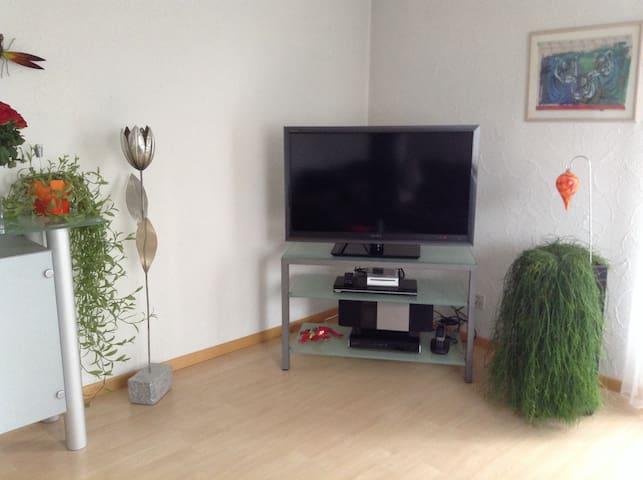 Ruhiges Gästezimmer Nähe Flughafen - Embrach - Apartemen