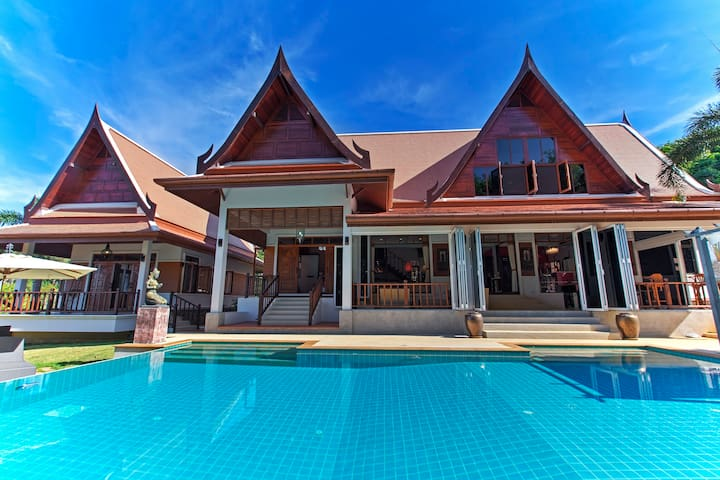 Gorgeous Thais house-4 bedrooms. - Talang - Maison