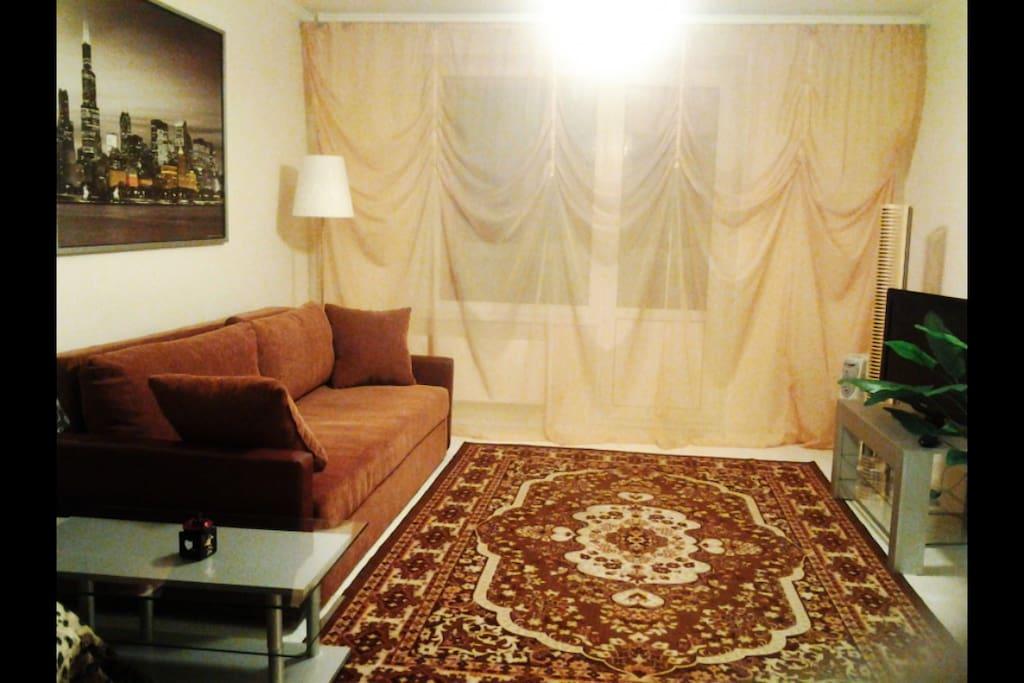 Комната-спальная ~20кв.метров