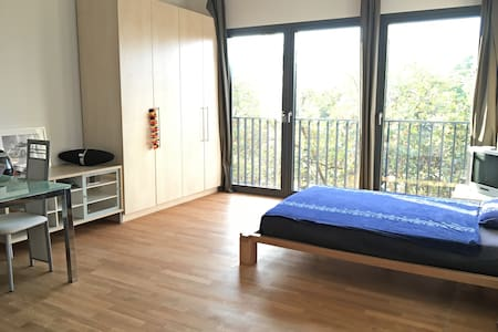 Central modern flat: 1 min to the river Main! - Wohnung