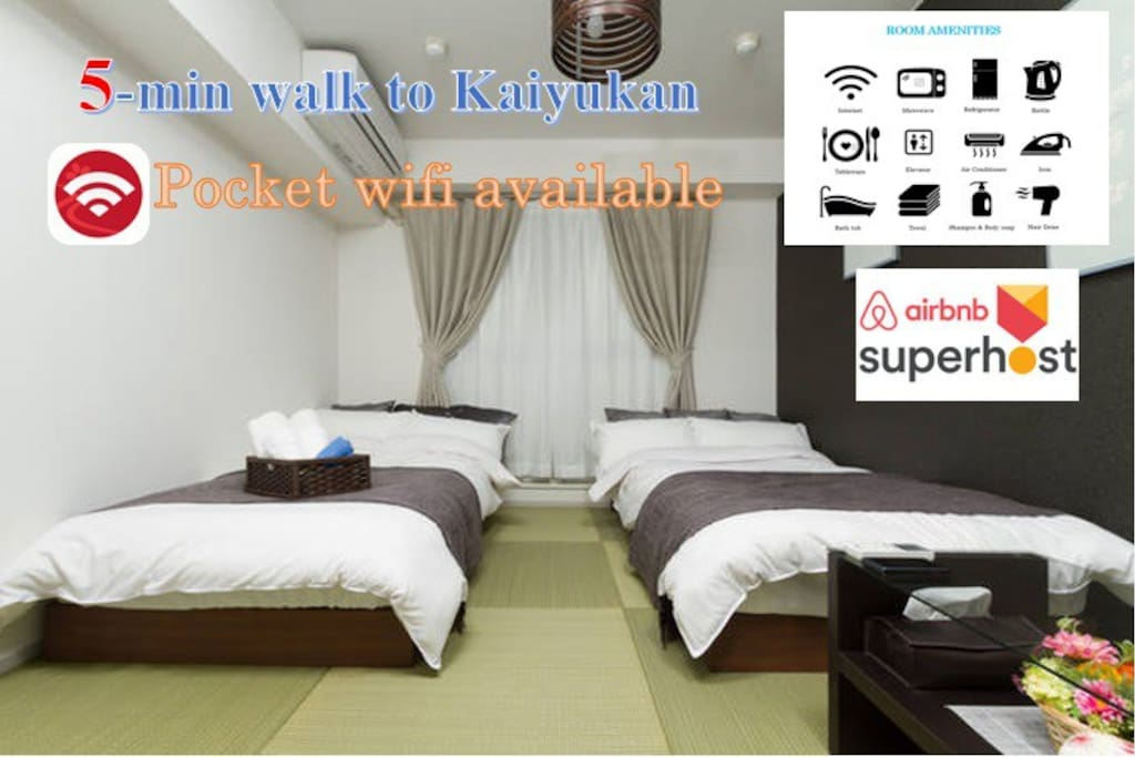 Warm and cozy room with full amenities
