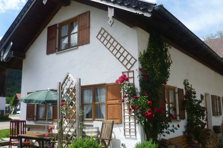 Delightful Holiday Home in Unterammergau with Terrace