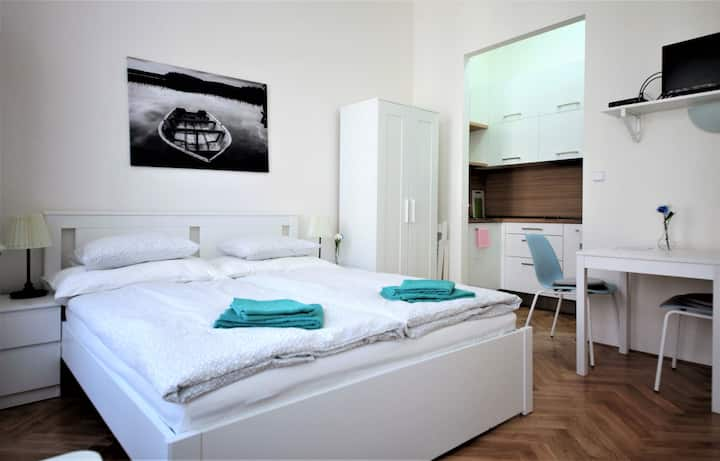 Comfortable 1-Bedroom Apartment, Prague 6, Subway