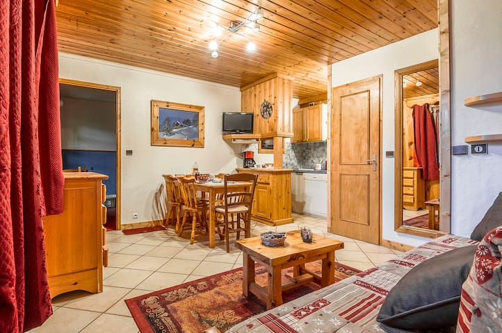 Appt 4-6pers/35m² in 3* chalet - La Rosière resort