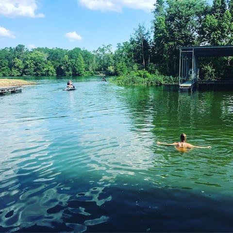 Flint River views
