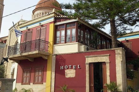 Aegina Town aneiclassical 10 - Aegina - Penzion (B&B)