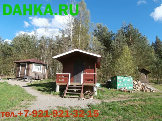 Домик в Карелии на берегу Ладоги