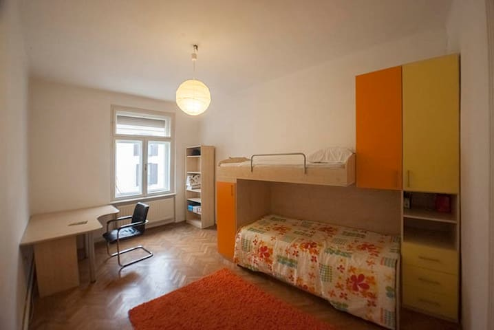Budget Zagreb room in the center - Zagreb - Appartement
