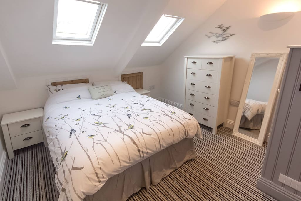 Master bedroom  double bed with 'in-room' ensuite