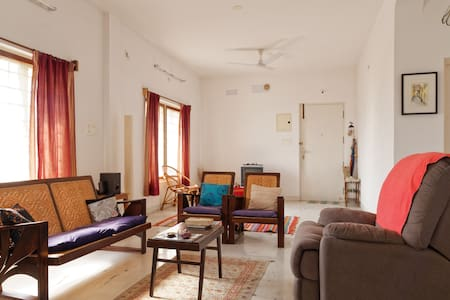 2 BHK -  HOME in Pondy - SIMPLY MEDITATE & RELAX - Puducherry - Lägenhet