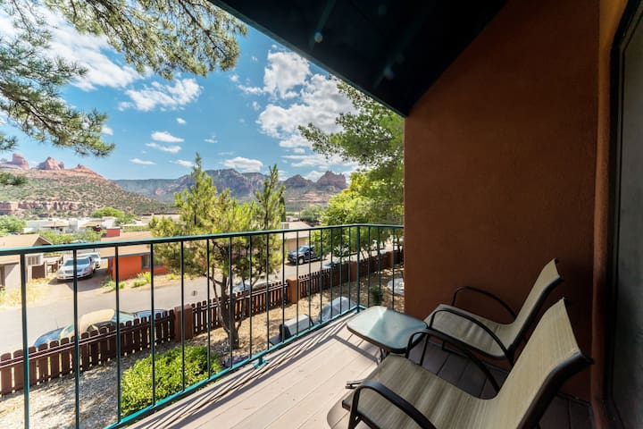 Beautiful Apt/Uptown Sedona/Red Rock Views  #3