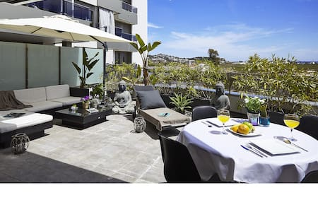 LUXURY FLAT WITH TERRACE AND POOL - Ibiza