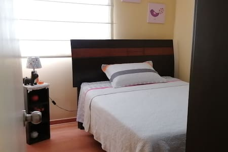 Habitación doble cerca a Miraflores y San Isidro.