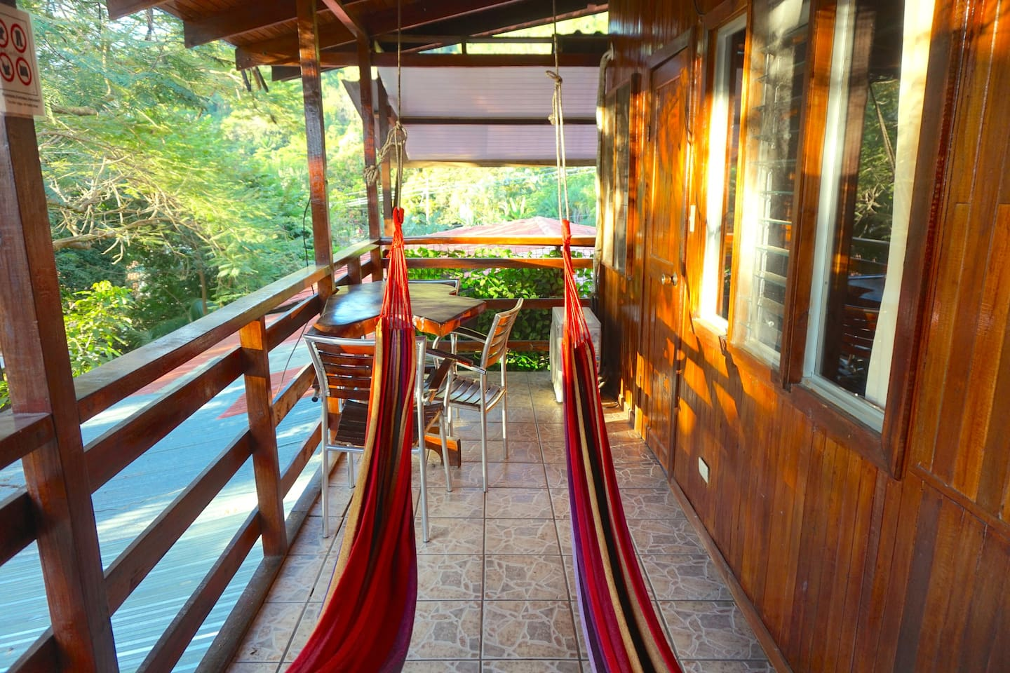 Great balcony for your YOGA Practice