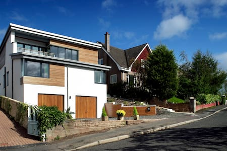 Award Winning Eco-House 4 bedroom Glasgow Bearsden