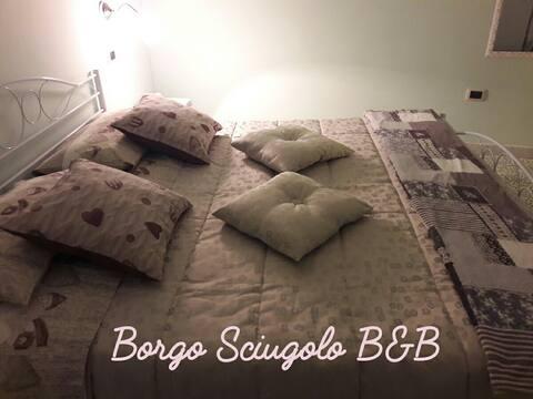 B&b Borgo Sciugolo - BASELICE Camera luna