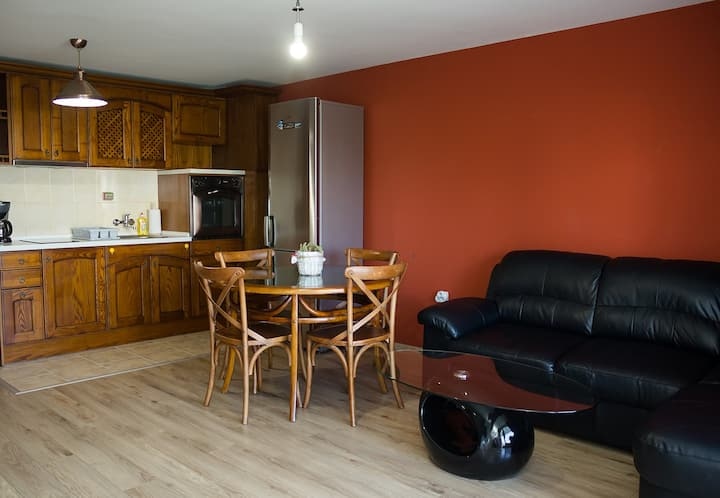 Quiet & Private 1BDR Apt in Levski + Parking