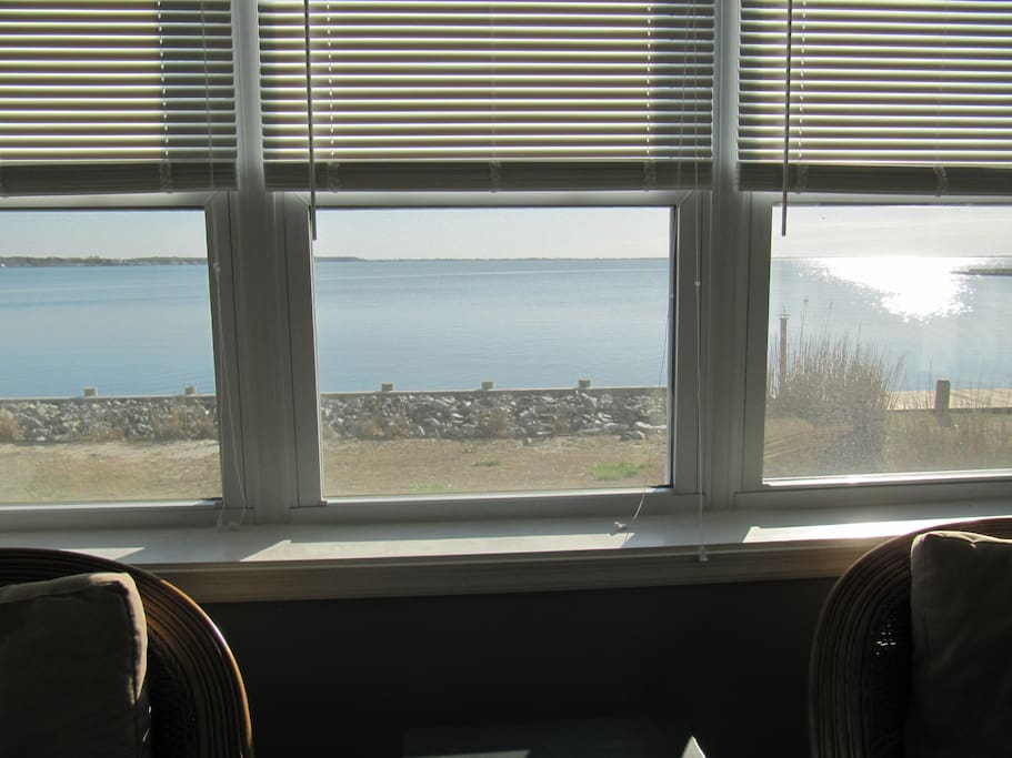 Waterview from Bedroom windows