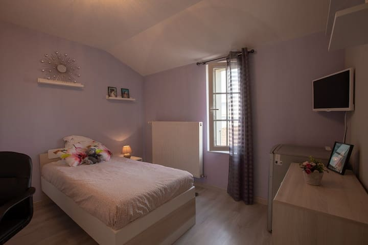 Chambre collocation,wifi,parking