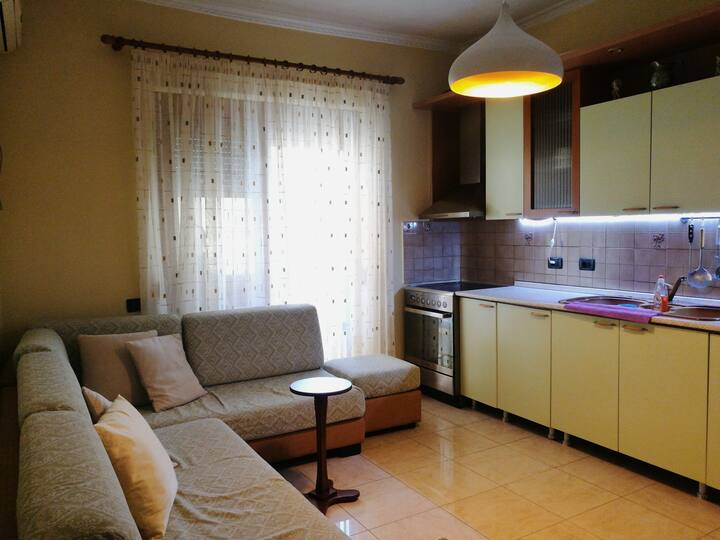 Cozy apartment in the center of Vlora city